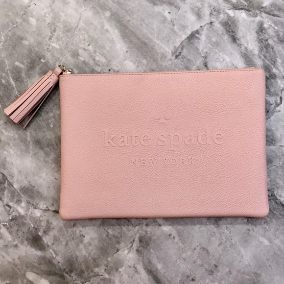 ce9ff8b4b kate spade Bags | Gia Pouch In Pink | Poshmark
